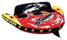 AIRHEAD AHST-3 Storm III Triple Rider Inflatable Towable Lake Water Boat Tube - http://sports.goshoppins.com/water-sports-equipment/airhead-ahst-3-storm-iii-triple-rider-inflatable-towable-lake-water-boat-tube/