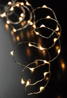 LED Fairy String Lights Battery Operated | Warm White