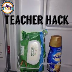 Want a quick and easy way to cool down 22+ kids? Stick a bag of baby wipes in your fridge. Pass them out when you come in from recess. Everyone will be cool and clean in seconds! From: The Tutu Teacher