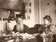 Count Lev Tolstoy and his Wife Countess Sophia Tolstoy At Home in Tolstoy's Study, 1907 Tolstoy Quotes, Russian Literature, Anna Karenina, Adopting A Child, We Are Family, Significant Other, Martin Luther King, Adoption, The Past