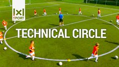 Technical Circle - Creative Football/ Soccer Drill for Kids