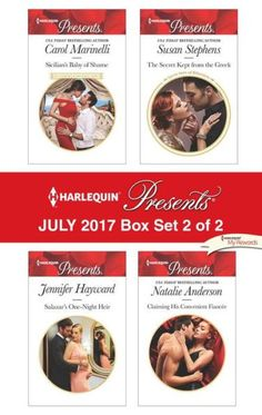 Harlequin Presents July 2017 - Box Set 2 of 2: Sicilian's Baby of Shame\Salazar's One-Night Heir\The