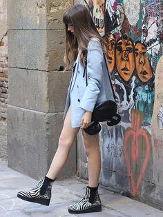 Spanish blogger Anna Ponsà & Ras Au /Win 13/14 http://www.missnobody.net/gaspar-garre-experience_-new-outfit/