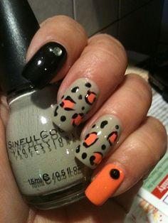 Leopard Skittlette by Lilys_nails - Nail Art Gallery nailartgallery.nailsmag.com by Nails Magazine www.nailsmag.com #nailart