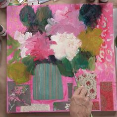 Mixed Media Painting Workshop Expressive Still Lifes