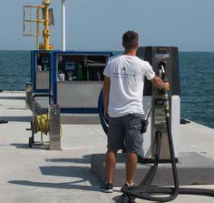 #PortoMirabello #refuelling for #megayacht #superyacht #mediterranean