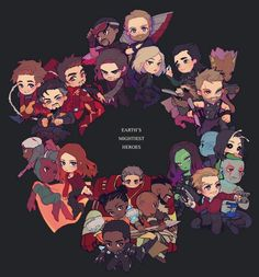 Avengers Infinity War || Thor, Black Panther, Black Widow, Dr. Strange, Guardians of the galaxy, Hulk, Iron-Man, Spider-Man, Scarlet Witch || Cr: hika