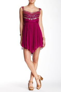 Embellished Asymmetrical Dress by Free People on @nordstrom_rack