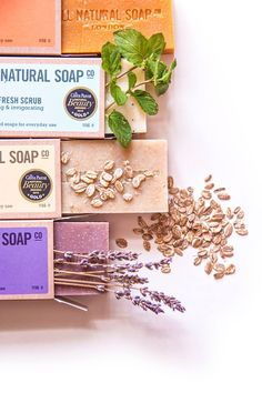 Gorgeous photos of our soaps taken by Czech artist Magifešn for our Prague stockist!