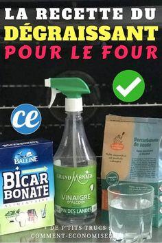 La super recette naturelle fait maison du nettoyant pour four avec du bicarbonate