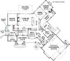 Harmony Ranch House Plan -