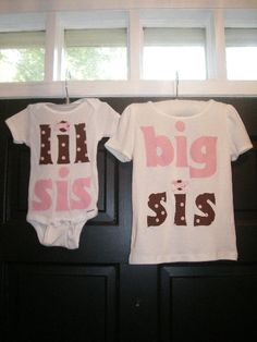 big sis, lil sis shirts
