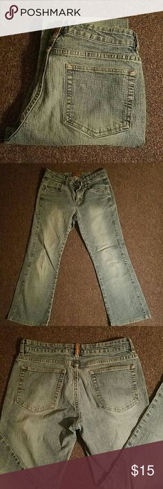 **FINAL MARKDOWN** Lee Jeans Lee one true fit jeans. A little stretchy and they are alittle flared at the bottom Lee Pants
