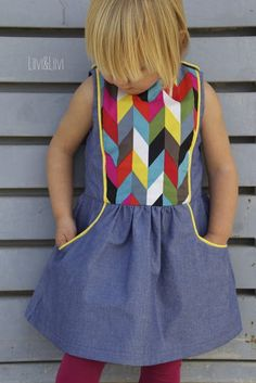 Tic Tac Toe Dress - Sewpony Vintage