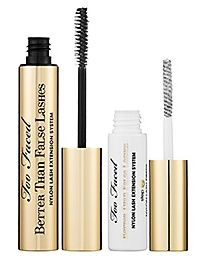 Too Faced Better Than False Lashes Nylon Lash System Review. Click through to read!