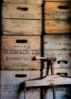 Just love old crates. So much can be done. I have a Pepsi crate in my store see it here www.hopeandfind.com #HopeFindVintage