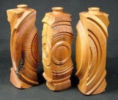 One of a kind twig pots by Derek Andrews, seafoamwoodtur ing.com