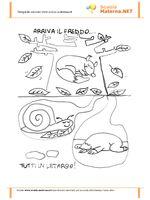 disegno per bambini da colorare gratis fattoria animali