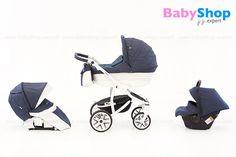 Kombikinderwagen Torino 3in1 - Plastikbabywanne, Buggy und Autositz :-) #babyshopexpert #kombikinderwagen #torino #3in1
