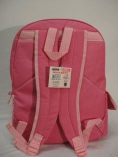 c887d7afb2 Hello Kitty HK Hearts Girls 16 Large Pink School Backpack Bag -- Check out  this great product.Note It is affiliate link to Amazon.