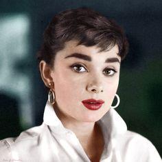 Audrey Hepburn by klimbims on deviantART