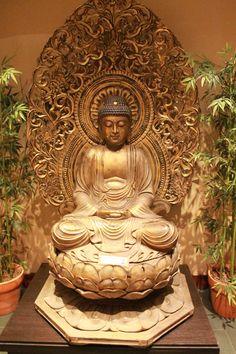 brass buddha statue preview