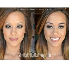 Visit www.sheilabellamakeup.com for that perfect brows