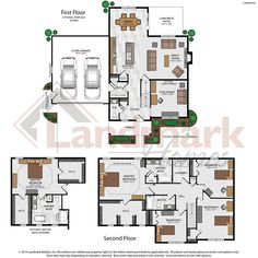 Lawrence Home Plan by Landmark Homes in Available Plans