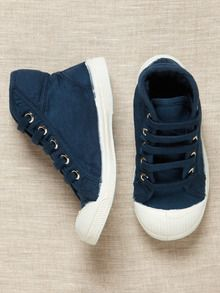 Tennis Mid Top by Bensimon at Gilt