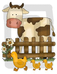 Fabric WALL DECALS Farm Animal Barnyard Mural Set Girls Boys - Barnyard nursery wall decals