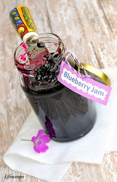 Life Scoops: Blueberry Jam (Jelly)