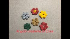 Fiore all'uncinetto punto Puff 🌸 Facile e veloce Crochet, Youtube, Handmade, Amigurumi, Hand Made, Ganchillo, Crocheting, Knits, Youtubers