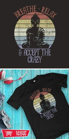 You can click the link to get yours. Breathe Relax and Accept the Crazy Funny. Yoga tshirt for Yoga Lover. We brings you the best Tshirts with satisfaction. Crazy Funny, Wtf Funny, Yoga Progress, Funny Yoga, Prenatal Yoga, Outdoor Yoga, Yoga Art, Yoga Challenge, Breathe
