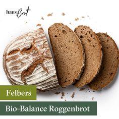 Reines BIO-Roggenvollkornbrot mit fein vermahlenem Korn. Mit Natursauerteig, ohne Zusatz von Backhefe und auf Stein gebacken. Speziell empfohlen für die Metabolic-Balance-Ernährung!💚   #JedenMorgenFrisch #VollGenuss #bio #brot #balance #roggenbrot #sauerteig #felber #bäckerei #lieferservice #auswien #regional #erhnährung #geliefert #onlinebestellt #nachhause #frühstück #breakfast #lecker Metabolic Balance, Regional, Bread, Food, Rye Bread, Stone, Food Food, Bakken, Brot