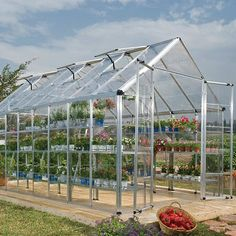 Palram 8x16-foot Snap and Grow Greenhouse