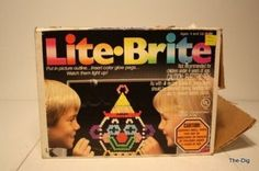 Lite-Brite! I still find excuses to use mine. haha