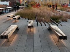 Designers: James Corner Field Operations  Location: New York City    http://www.thehighline.org/