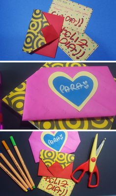 Origami, Playing Cards, Diy, Easy Crafts, Gift Boxes, Paper Envelopes, Creativity, Bricolage, Playing Card Games