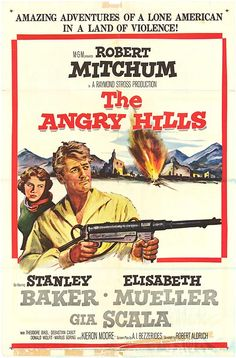 1959 movie posters | ANGRY HILLS POSTER ]
