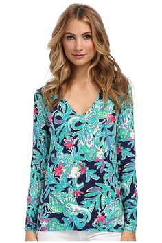 Lilly Pulitzer Jodie Top featured on Glance by Zappos
