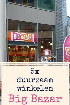 Duurzaam winkelen is mogelijk in elke winkelstraat. Ik geef jullie tips voor duurzame producten in de schappen van de meest favoriete winkels van winkelend Nederland om aan te tonen dat duurzaam leven helemaal niet moeilijk of duur hoeft te zijn. Zoals bij Big Bazar.