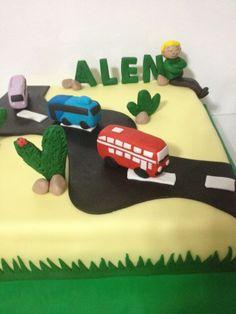 bus cake:)