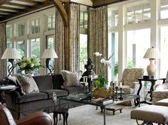 Wordless Wednesday, With Lots of Eye Candy Formal Living Rooms, Home Living Room, Living Spaces, Dining Rooms, Pretty Room, Beautiful Space, Beautiful Homes, Beautiful Interiors, Decoration