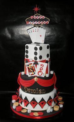 Stunning Las Vegas cake