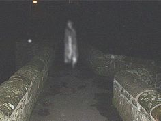 This picture was taken by the Cheshire Paranormal Society on the Caerwrie bridge. It's believed a number of ghosts haunt this bridge possibly in connection with a former burial ground nearby, for which the bridge was the entrance.