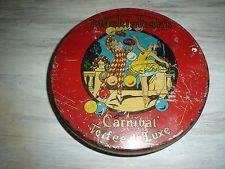 Vintage Mackintosh's Carnival Toffee de Luxe Oval Tin Halifax, England Nice Toffee, Porsche Logo, Baby Items, Tin, Vintage Items, Carnival, Ebay, Shopping