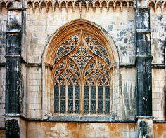 Mosteiro  da  Batalha,  Lisboa, Portugal
