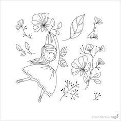 Clear Stamp Set Flying Fairy card making paper by TamarNahirYanai