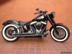 Harley Davidson Softail Slim 501 Cc O Más - Año Custom / Chopper - 2400 km - TuMoto.com Colombia #harleydavidsonsoftailslim