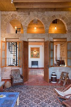 EcoConsulting Old House Design, House Outside Design, Stone Cottage Homes, Italian Home, Home Upgrades, Dream Decor, Restaurant Design, Traditional House, Old Houses